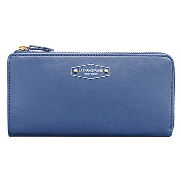 deep blue wallet