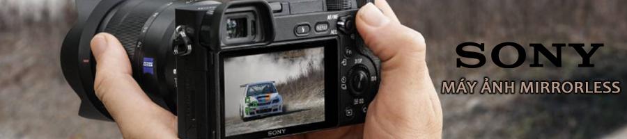 Sony máy ảnh không gương lật iprice