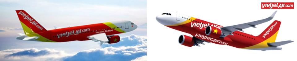 Máy bay Airbus của Vietjet Air