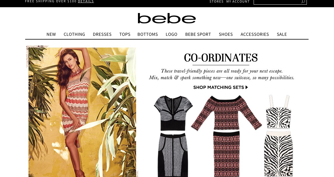 Bebe Coupon Codes & Voucher Codes