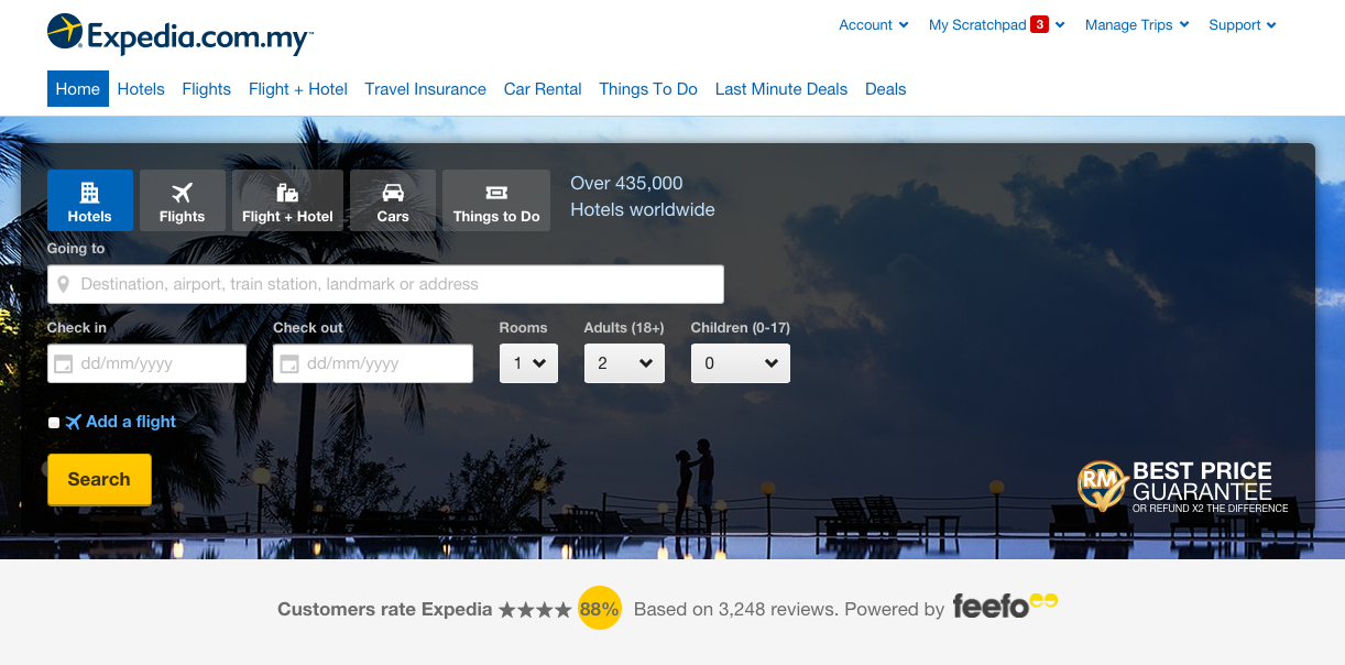 Expedia coupon codes & discounts
