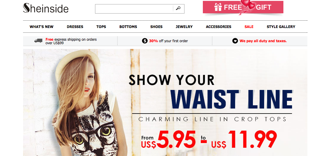 Sheinside Coupon Codes & Voucher Codes