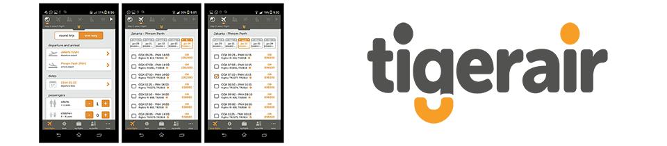 tigerair singapore app