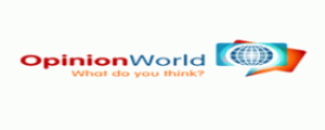 Sign up & start earning $ + rewards on opinionworld